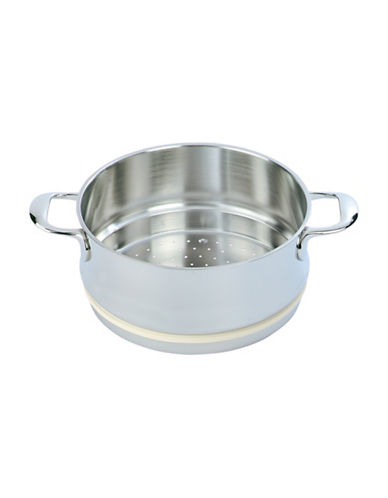 Demeyere 9.5 Inch Stainless Steel Stackable Steamer-SILVER-One Size