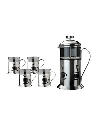 Berghoff 5 Piece French Press Coffee Set-STAINELSS STEEL-25
