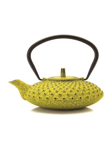 Berghoff Studio Cast Iron Tea Pot-YELLOW-One Size