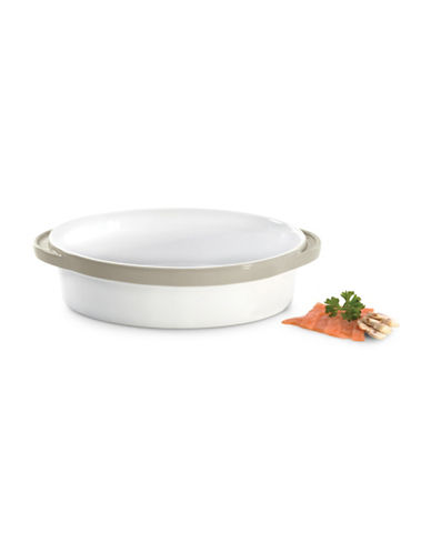 Berghoff Eclipse Oval Baking Dish-CREAM-One Size