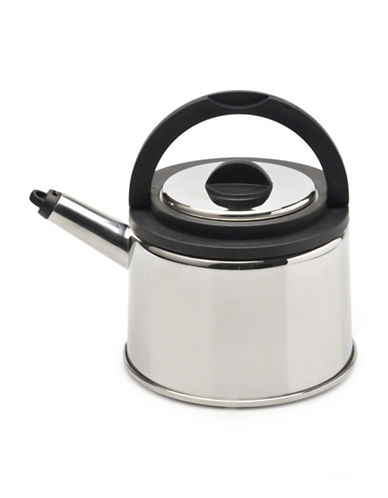 Berghoff Cubo Whistling Tea Kettle-STAINLESS STEEL-One Size