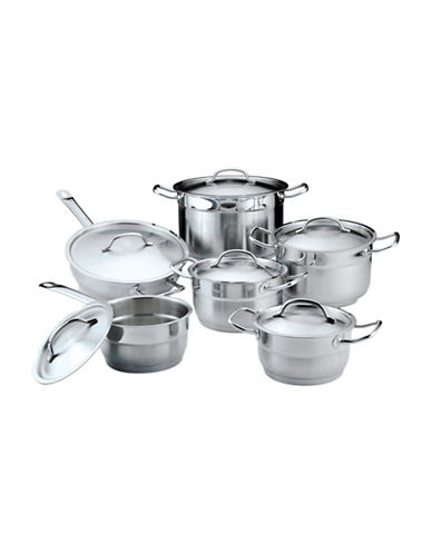 Berghoff Hotel Line 12-Piece Cookware Set-STAINLESS STEEL-One Size