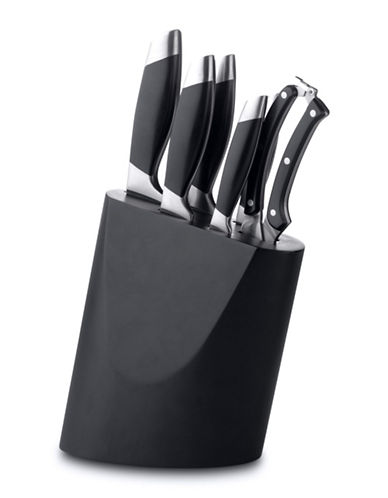 Berghoff Gemini Seven-Piece Knifeblock-STAINLESS-One Size