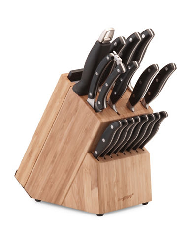 Berghoff 20-Piece Forged Knifeblock-WOOD-One Size
