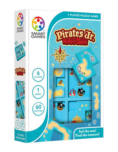 Smart Games Pirates Junior Hide and Seek-MULTI-One Size