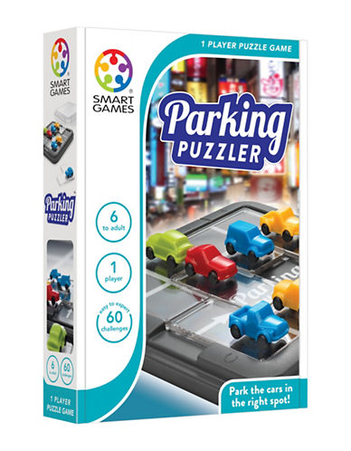 Smart Games Parking Puzzler-MULTI-One Size