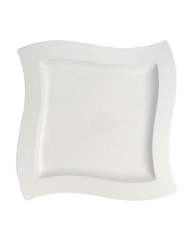 Villeroy & Boch New Wave 13 1 4  Square Platter-WHITE-One Size