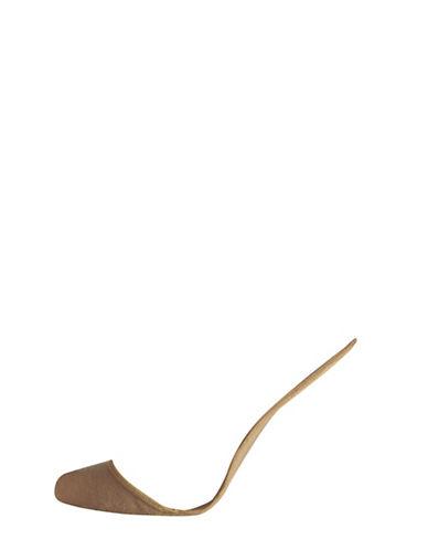 Silks Low-Cut Padded Inside Liners-BEIGE-One Size