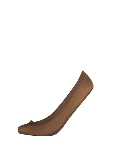 Silks Two-Pack Low-Cut Seam-Free Footcovers-TAUPE-One Size