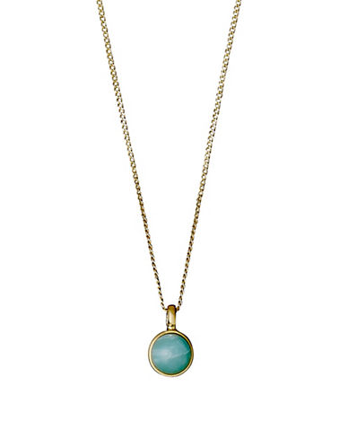 Pilgrim Elda Pendant Necklace-GOLD-One Size