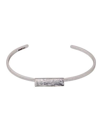 Pilgrim Lavina Cuff Bracelet-SILVER-One Size