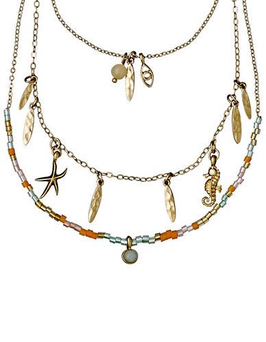 Pilgrim Kornelia Sea Necklace-GOLD-One Size
