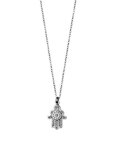 Pilgrim Aleja Fatima Silverplated Necklace-SILVER-One Size