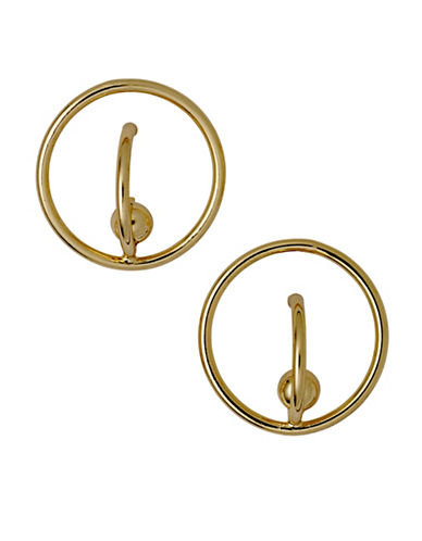Pilgrim Cait Stud Earrings-GOLD-One Size