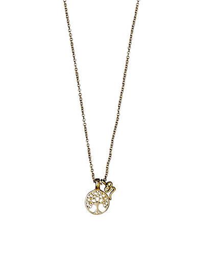 Pilgrim Annag Tree Pendant Necklace-GOLD-One Size