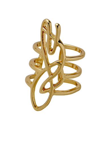 Pilgrim Annag Goldplated Ear Cuff-GOLD-One Size