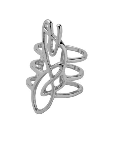 Pilgrim Annag Silverplated Ear Cuff-SILVER PLATED-One Size