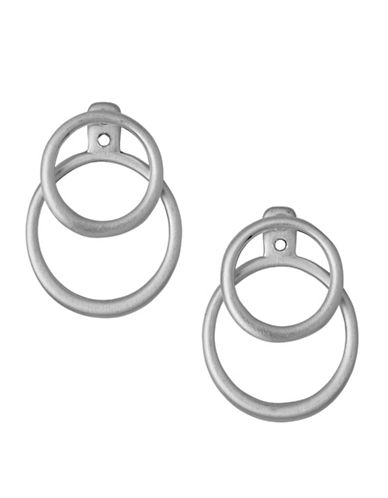 Pilgrim Iona Stud Earrings-SILVER PLATED-One Size