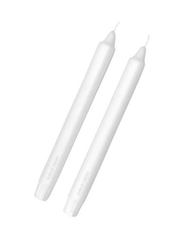 Georg Jensen Set Of 2 Paraffin Candles-WHITE-One Size