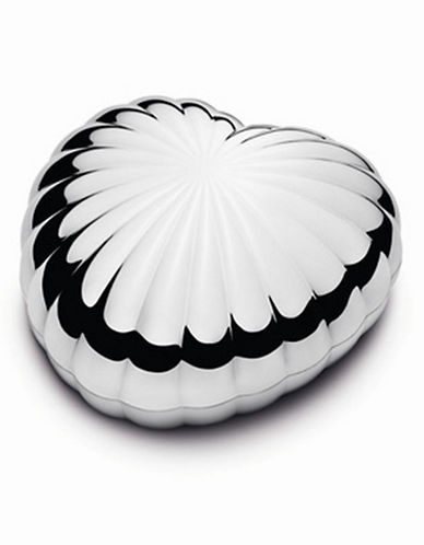 Georg Jensen Legacy Heart Bonbonniere-CHROME-One Size