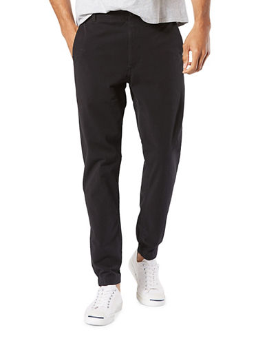 Dockers Smart 360 Flex Tapered Joggers-BLACK-36X32