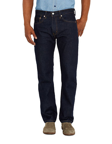 LeviS 505 Regular-Fit Rinse Jeans-RINSE-34X32