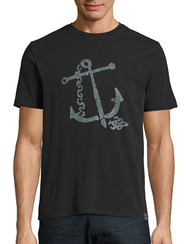 Dockers Anchor Cotton T-Shirt-BLACK-Small 88621043_BLACK_Small