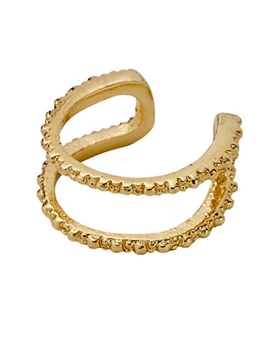 Pilgrim Textured Ear Cuff-GOLD-One Size