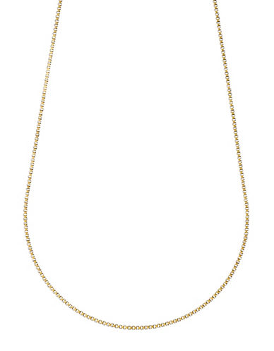 Pilgrim Goldplated Box Chain-GOLD-One Size