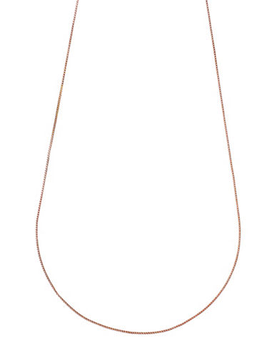 Pilgrim Goldplated Box Chain-ROSE GOLD-One Size