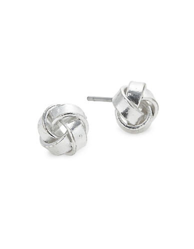 Pilgrim Anwen Stud Earrings-SILVER PLATED-One Size