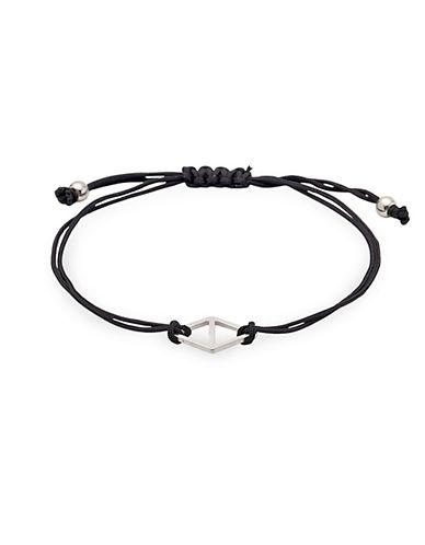 Pilgrim Diamond-Shaped Charm Bracelet-SILVER-One Size