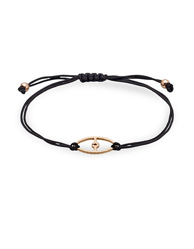 Pilgrim Evil Eye Charm Bracelet-ROSE GOLD-One Size
