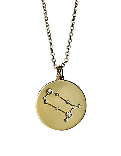 Pilgrim Starsign Gemini Pendant Necklace-GOLD-One Size