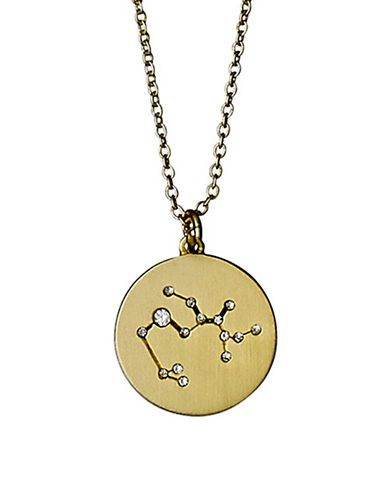 Pilgrim Starsign Sagittarius Pendant Necklace-GOLD-One Size