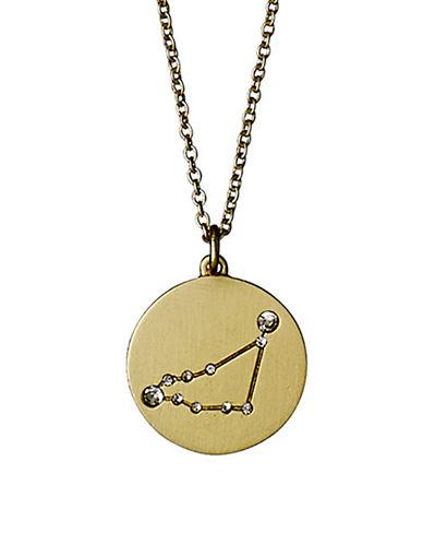 Pilgrim Starsign Capricorn Pendant Necklace-GOLD-One Size