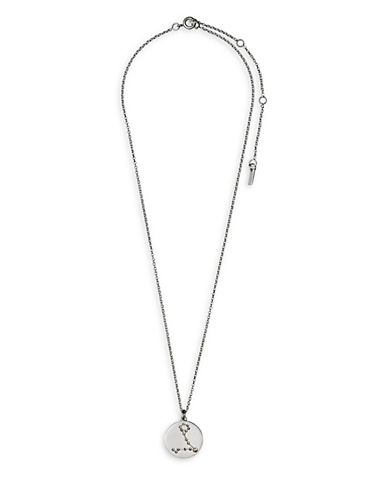 Pilgrim Starsign Pieces Pendant Necklace-SILVER-One Size