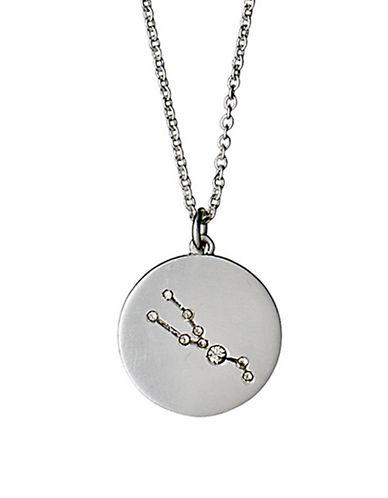 Pilgrim Starsign Taurus Pendant Necklace-SILVER-One Size