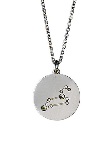 Pilgrim Starsign Leo Pendant Necklace-SILVER-One Size