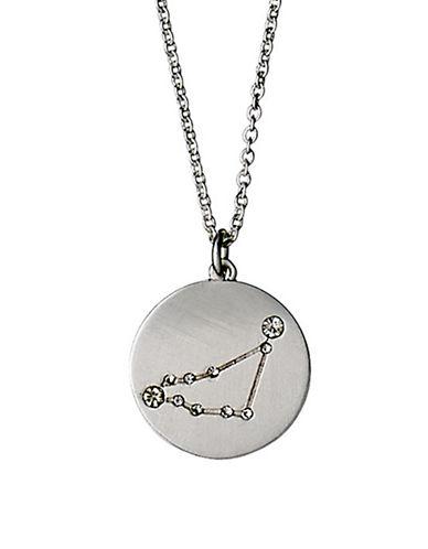 Pilgrim Starsign Capricorn Pendant Necklace-SILVER-One Size