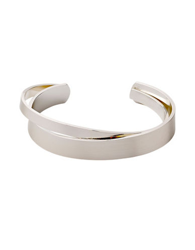 Pilgrim Rose Goldtone Stack Bracelet-SILVER-One Size