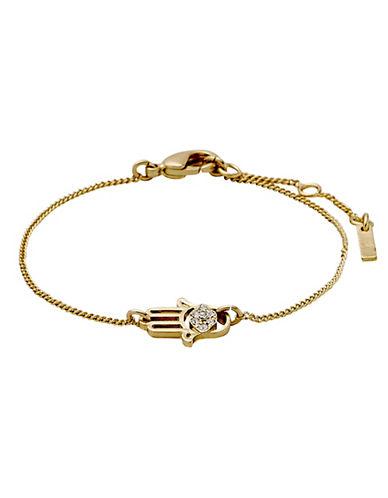 Pilgrim Evil Eye 14K Goldplated Bracelet-GOLD-One Size