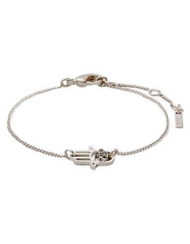 Pilgrim Evil Eye 14K Goldplated Bracelet-SILVER-One Size