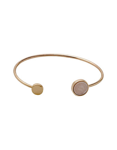 Pilgrim Trusty Rose-Goldtone Bangle-ROSE GOLD-One Size