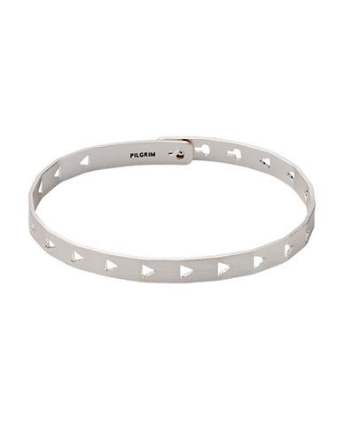 Pilgrim Arrow Cut-Out Bracelet-SILVER-One Size