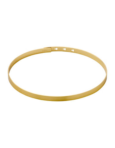 Pilgrim Band Choker Necklace-GOLD-One Size
