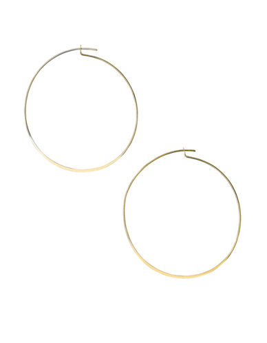 Pilgrim Pressed Bottom Hoops-GOLD-One Size