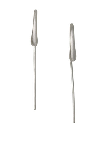 Pilgrim Hesitation Silverplated Ear Crawlers-SILVER-One Size