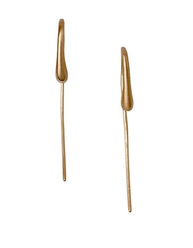 Pilgrim Hesitation Rose-Goldtone Ear Crawlers-ROSE GOLD-One Size