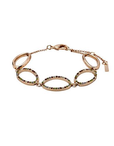 Pilgrim Pioneer Rose-Goldtone Oval Link Bracelet-ROSE GOLD-One Size 88910332_ROSE GOLD_One Size